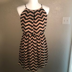Short Chevron Dress